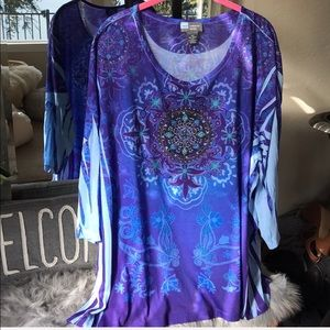 Liz & Me Tops - 🍂5/$25🍂Gorgeous purple top